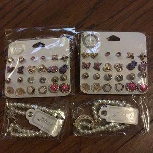 ❗️Closing❗️Lot of Earrings & Bracelets